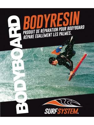 Kit de réparation SURF SYSTEM Bodyresin pour Bodyboard et Palmes