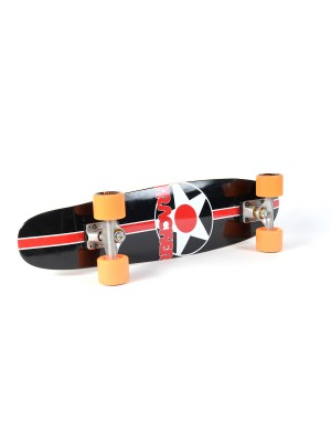 Skateboard Cruiser TRACKER TRUCKS Cruizeline 27 Inch - Orange Wheels