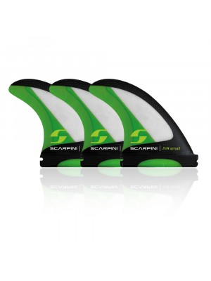 Set de 3 dérives SCARFINI - AIR-CARBON FIBERGLASS FIN (taille S) (Future)