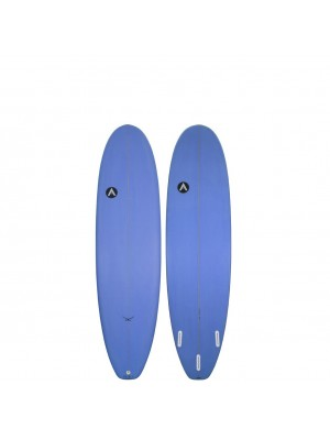 "Planche de Surf Mini Malibu AGENCY SURFBOARDS 6'4"" The Hawk blue (PU)"