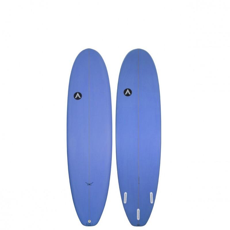 Planche de Surf AGENCY SURFBOARDS 7'6 The Hawk blue (PU)