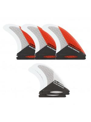 Set de 5 dérives SCARFINI FX2.5 Carbon Fiberglass (taille M) (Future)