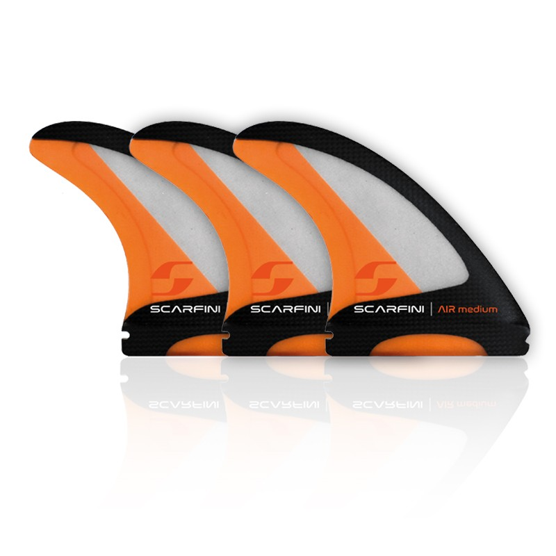 Set de 3 dérives SCARFINI - AIR-CARBON FIBERGLASS FIN (taille M) (Future)
