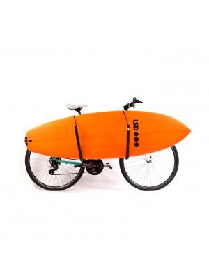 Racks porte-surf SURF SYSTEM pour Vélo (pour shortboards, longboards et petits SUP)