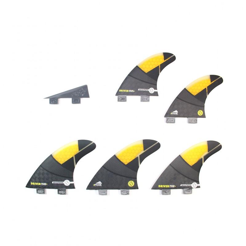 Set de 6 derives SHAPERS - GLOBAL SERIES SPECTRUM DRIVER (taille L) (FCS)