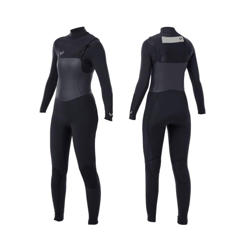Combinaison de surf VOLTE Lady Supreme 4/3 front zip