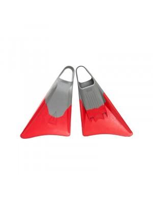 Palmes de Bodysurf et Bodyboard FREEDOM Fins - Grey / Red