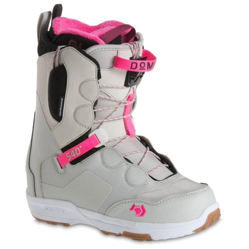 Boots Snowboard Femme - NORTHWAVE Domino SL 2018 - Blanche