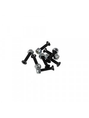 """Visserie skateboard - 1"""" YOCAHER X CORE HARDWARE 8 BOLTS AND 8 NUTS"""