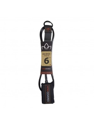 Leash Surf STAY COVERED Big Wave Standard (8mm) - Black
