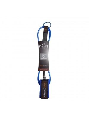 Leash Surf STAY COVERED Standard Deluxe (7mm) - Bleu