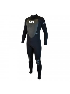 Combinaison de surf WEST Lotus 4/3 back zip - Noir