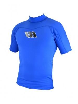 Lycra manches courtes WEST UV Flex Rashguard - Bleu