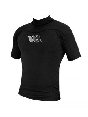 Lycra manches courtes WEST UV Flex Rashguard - Noir