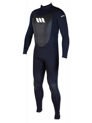 Combinaison de surf WEST NITRO 3/2mm back zip - Noir