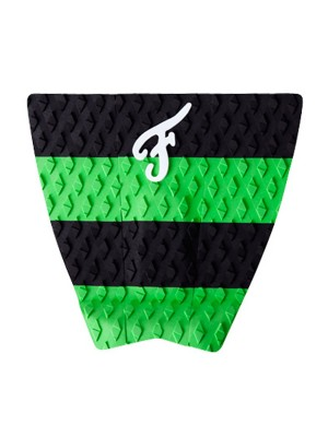 Traction Pad Surf FAMOUS Woodlake - Noir/Vert