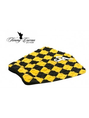 Traction Pad Surf FAMOUS Timmy Curran Pro Model - Noir/Jaune