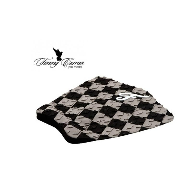 Traction Pad Surf FAMOUS Timmy Curran Pro Model - Noir/Gris