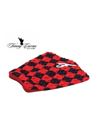 Traction Pad Surf FAMOUS Timmy Curran Pro Model - Noir/Rouge