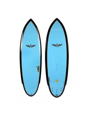 Planche de Surf BOARDWORKS Von Sol Shadow blue/black (epoxy)