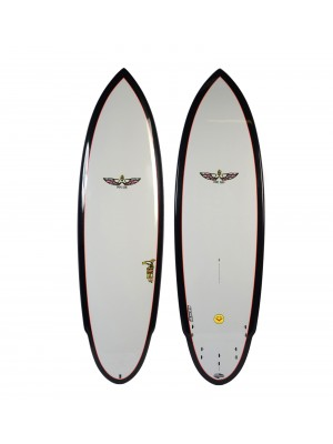 Planche de Surf BOARDWORKS Von Sol Shadow grey/black (epoxy)
