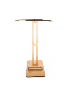Support vertical SURF SYSTEM en bois - Réglable pour planche de surf
