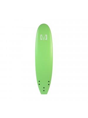 """Planche de Surf Ecole Softboard VICTORY EPS Mousse Malibu 7"""" Vert"""