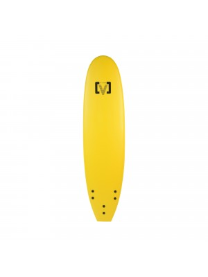 Planche de Surf Ecole Softboard VICTORY EPS Mousse Malibu 7' Jaune