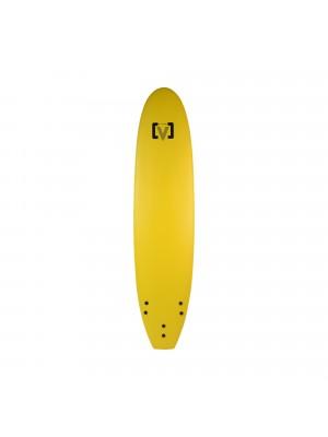 Planche de Surf Ecole Softboard VICTORY EPS Mousse 8' - Jaune