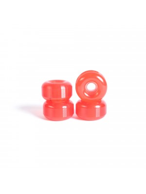Roues skateboard - YOCAHER 54x32mm 99a - Translucid Red