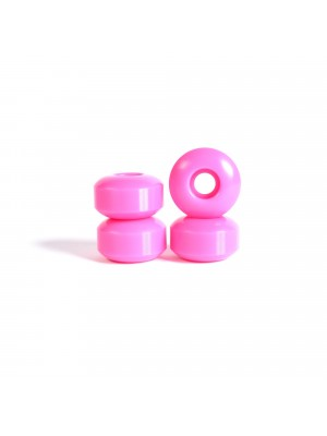 Roues skateboard - YOCAHER 52x31mm 99a - Neon Pink