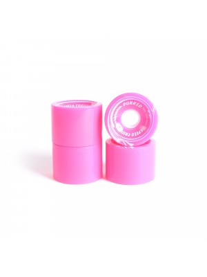 Roues skateboard - YOCAHER 70x52mm 78a - Pink