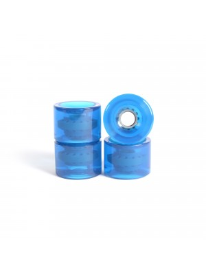 Roues skateboard - YOCAHER 71x51mm 78a - Gel Blue