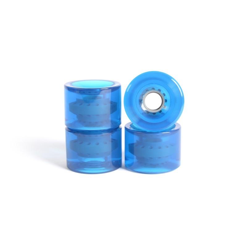 Roues skateboard - YOCAHER 71x51mm 78a - Gel Blue