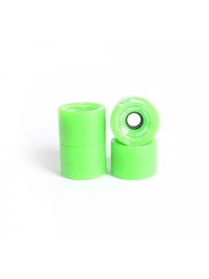 Roues skateboard - YOCAHER 70x52mm 78a - Neon Green