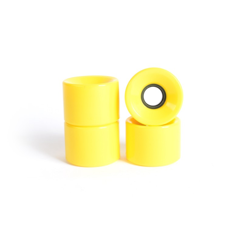 Roues skateboard - YOCAHER 60x44mm 78a - Yellow