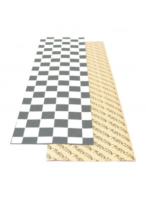 Grip de Skateboard YOCAHER Widow Checker - Black/White