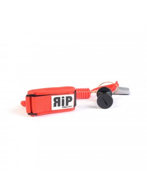 Leash biceps Bodyboard no swivel RIP Pro Series - Red