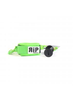 Leash biceps Bodyboard RIP Pro Series No Swivel - Neon Green