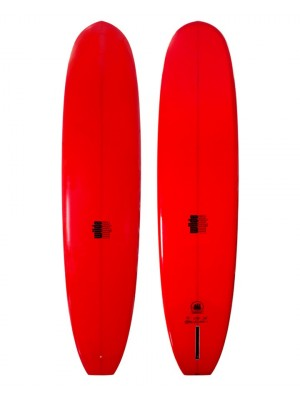 Longboard WILDE SHAPES - Admiral Square Tail 9'4 - Red (PU)