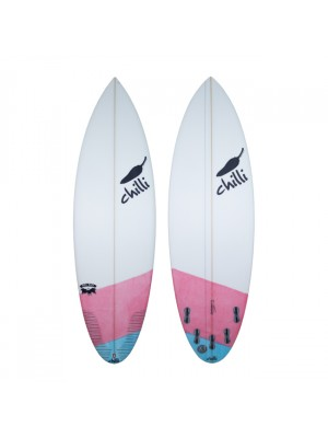 Planche de Surf CHILLI Rare Bird Red/Blue XF Epoxy 6'1 (Future)