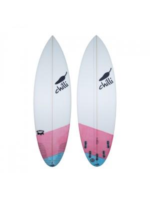 Planche de Surf CHILLI Rare Bird Red/Blue XF Epoxy 6'1 (Future)