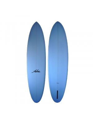 ALOHA Surfboards Mid Length Clear 8' (PU) - Blue