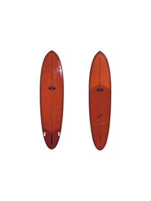 Planche de Surf Mid length TAKAYAMA Howard Special Mini 7'8 (PU) - Burnt Orange