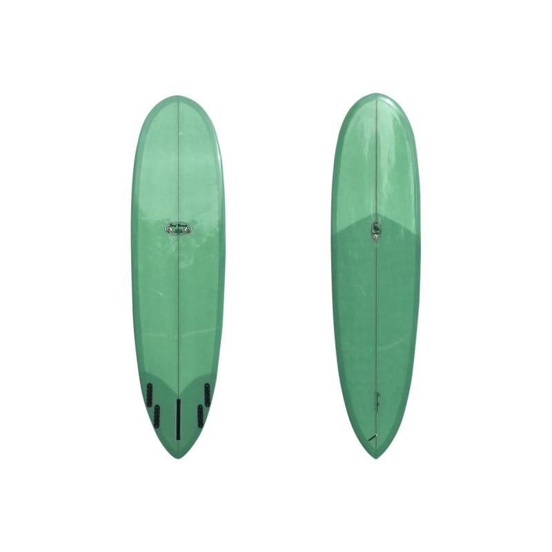 Planche de Surf Funboard TAKAYAMA Scorpion 6'10 (PU) - Lime Green