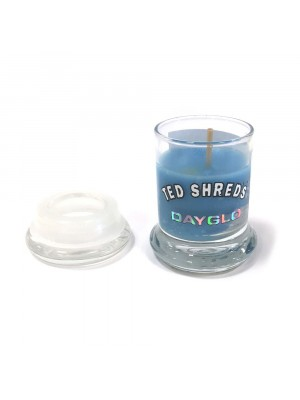 Bougie TED SHRED'S Surfwax Candle Dayglo