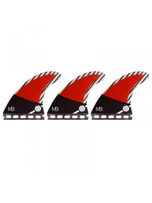 Set de 3 dérives SHAPER - CARBON HYBRID MATT BANTING (Small S) (Futures)