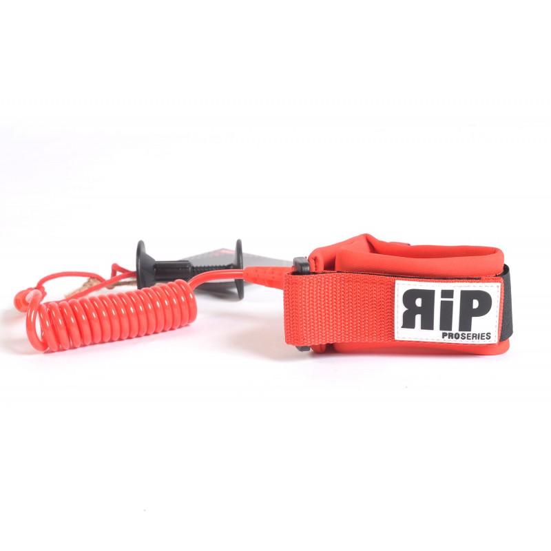 Leash biceps Bodyboard RIP Pro Series - Rouge