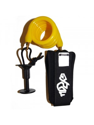 Leash biceps Bodyboard GYROLL Variables Arm - Jaune