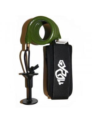 Leash biceps Bodyboard GYROLL Variables Arm - Militaire